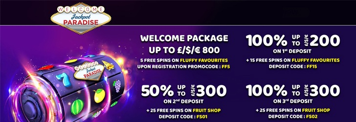 Jackpot Paradise Casino - Jackpot Paradise Casino Free Spins Promotion